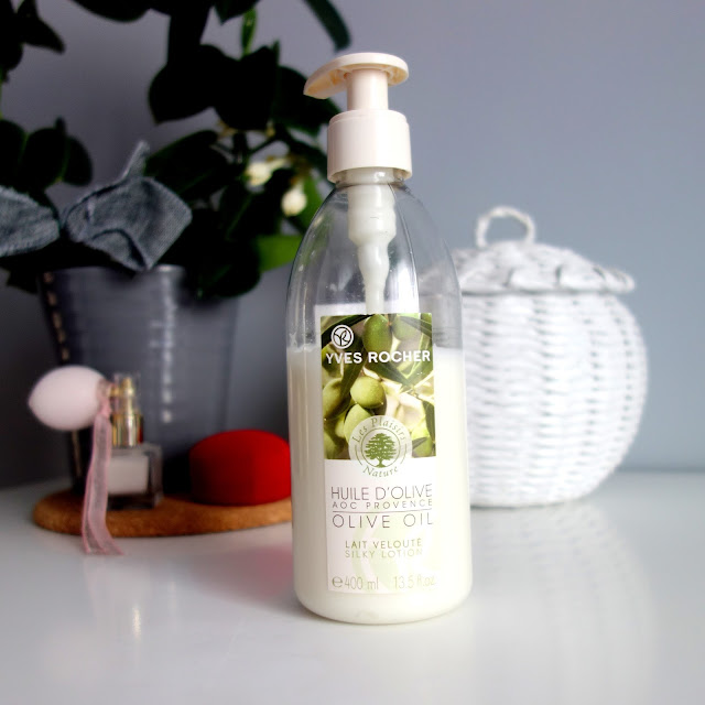 Yves Rocher Huile D'Olive - balsam do ciała z oliwą z oliwek