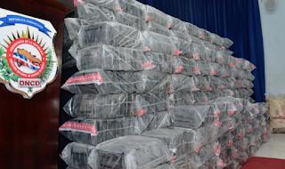 Decomisan 390 paquetes de droga en República Dominicana
