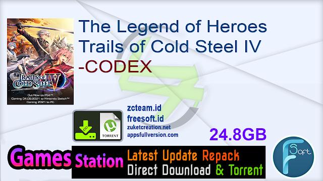 The Legend of Heroes Trails of Cold Steel IV -CODEX