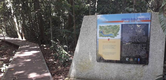 Rentis Bukit Teresek @ Taman Negara