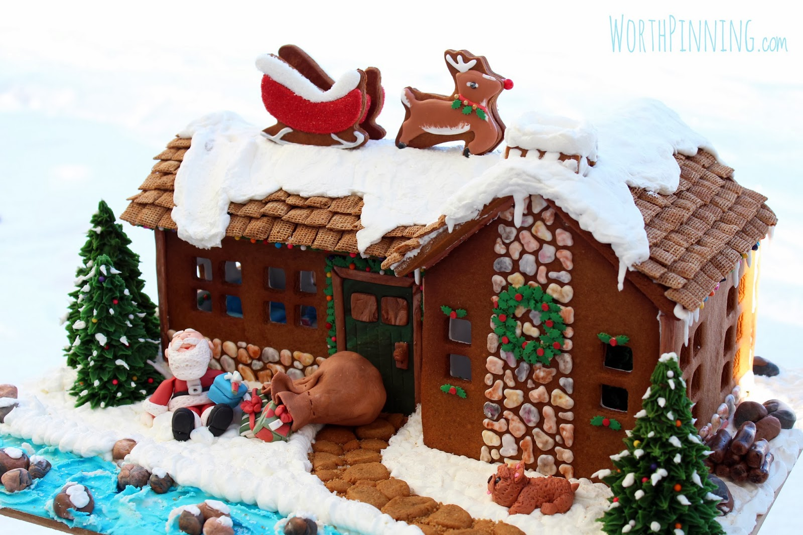 Elaborate Gingerbread House Patterns Www Topsimages Com