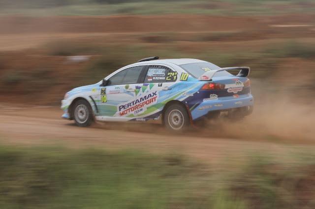 Rizal Sungkar Menangi Kejurnas Sprint Rally di seri 5