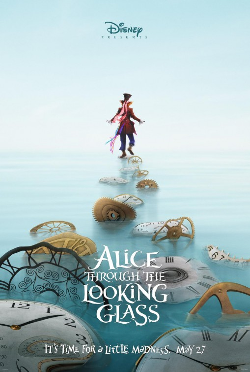 Disney Alice Through the Looking Glass movie poster