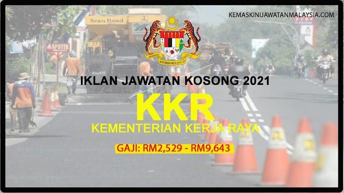 331 Kekosongan Jawatan KKR- Mohon Sebelum 07 September 2021