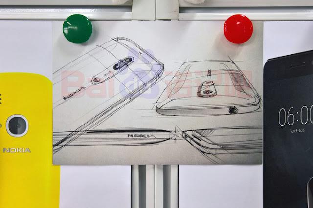 Gambar sketsa ponsel terbaru Nokia bocor dengan kamera belakang Zeiss