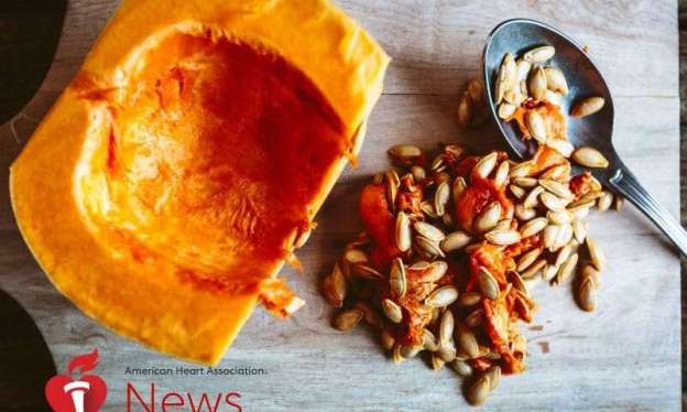 Pumpkin Pulp, Seeds Lower Blood Pressure in Rat Study: AHA News