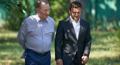 Кучма ушел из украинской делегации на переговорах в Минске
