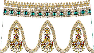 Jwellery-textile-motif