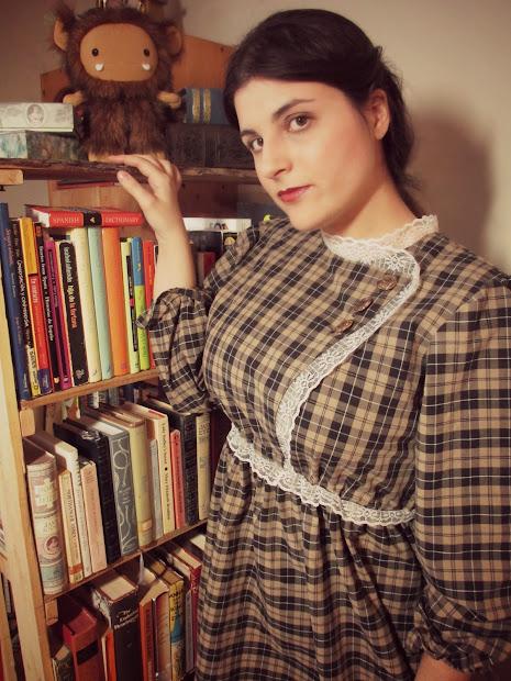 Crafting Steampunk Schoolmarm Lolita Dress