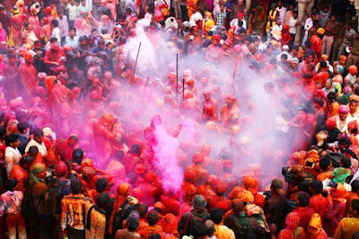 Holi In Mathura 2019