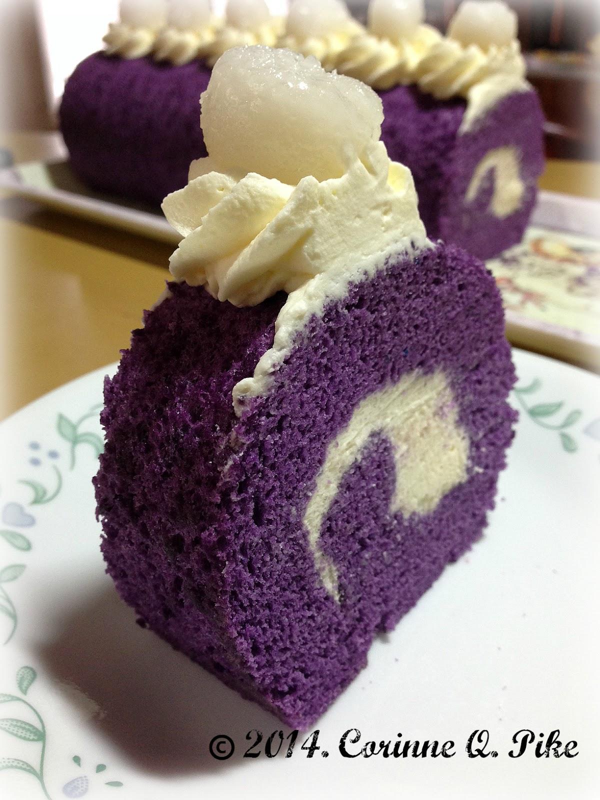 Yam Cake Roll Recipe