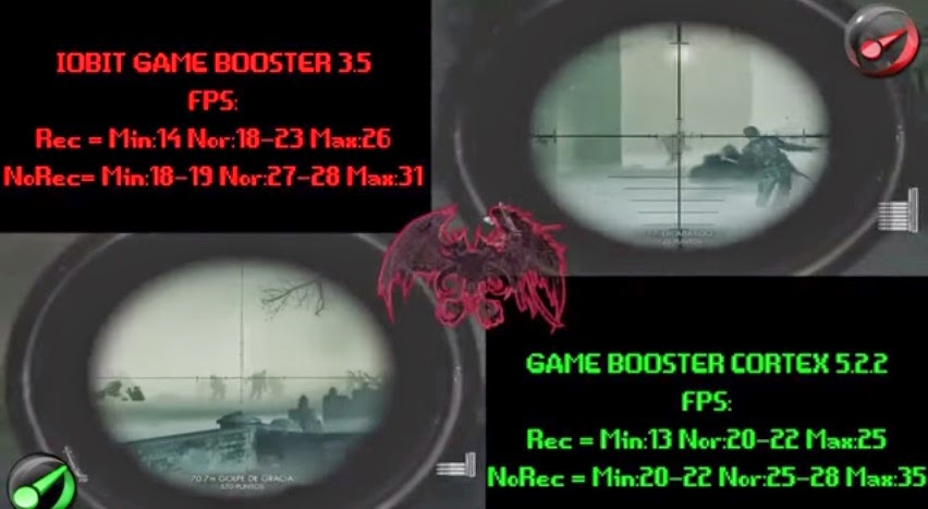 IObit Game Booster Vs Razer Cortex screenshot 5