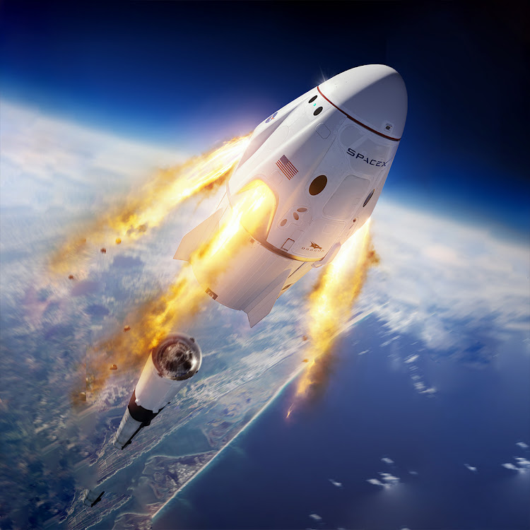 Капсула SpaceX Dragon