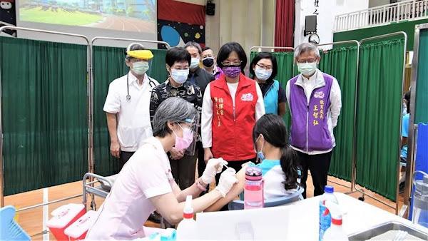 彰化縣國高中學生BNT疫苗開打 96%同意校園接種全國第二