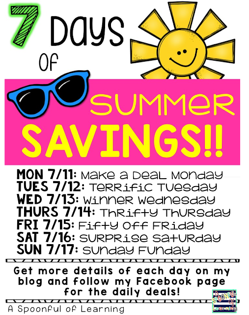 7 Days of Summer Savings 2016