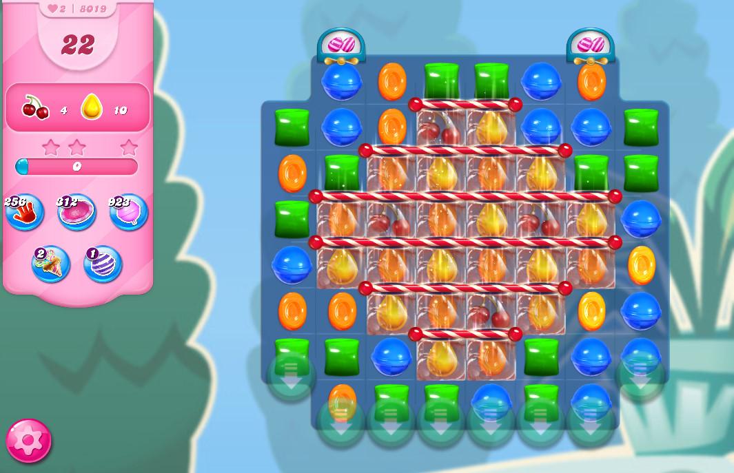 Candy Crush Saga level 8019