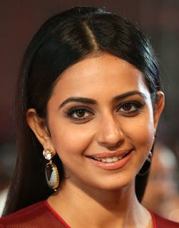 Telugu Actress Rakul Preet Singh Oily Face close Up Pictures (6)