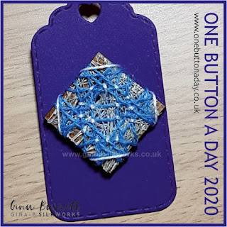 Day 253 : Constellation - One Button a Day 2020 by Gina Barrett