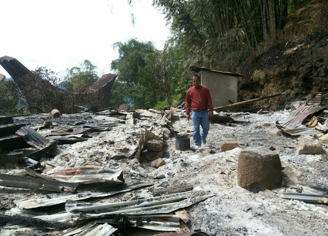 Kebakaran, Dua Lansia Ikut Terbakar Saat Sedang Tidur di Rumahnya