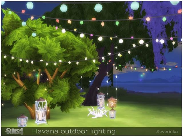 Светильники разные — наборы для Sims 4 со ссылками для скачивания