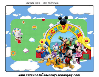Mickey Clubhouse: Free Printable Candy Bar Labels. - Oh My ...