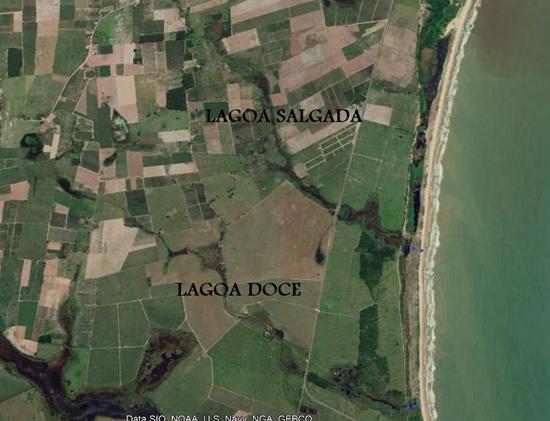 Mangue e humanos: Lagoa Doce (SFI)