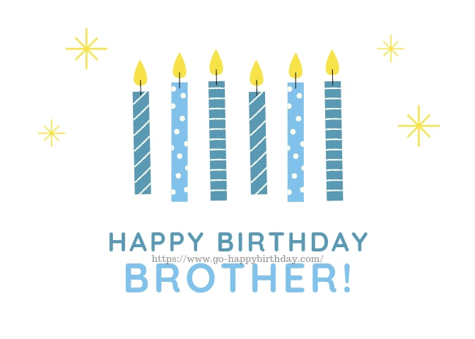 Bday Wishes Brother