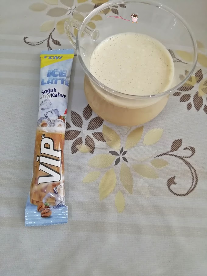 VIP  Ice Latte (Soğuk Kahve) Tadım