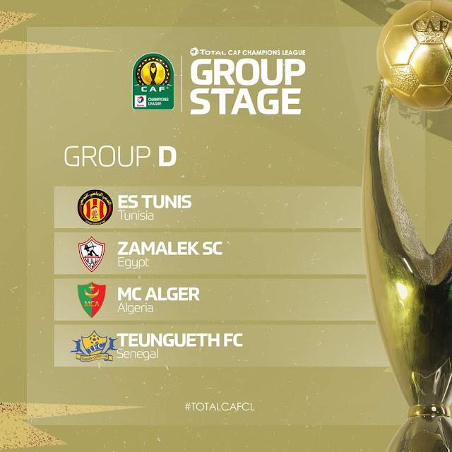 نتائج قرعة دور المجموعات لأبطال إفريقيا ودور الـ32 لكأس الكونفدرالية