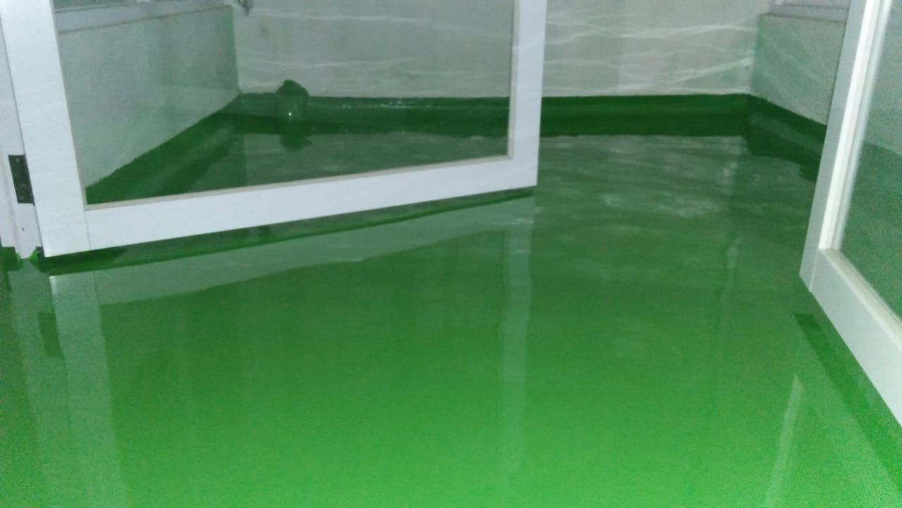 proses pengerjaan epoxy ground tank