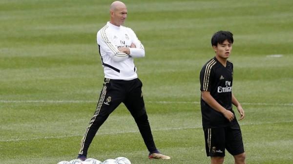 موهوب ريال مدريد يبعث رسالة مشفرة إلى زيدان
