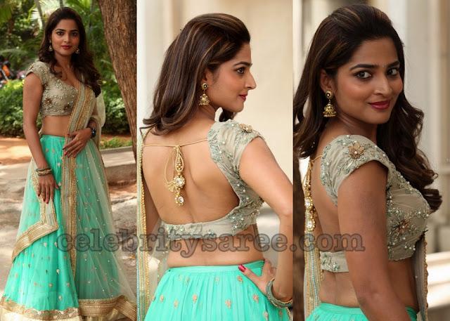 Anagha Guna Half Saree