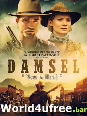 Damsel 2018 Open Matte Dual Audio [Hindi 5.1ch ] 720p BRRip 1Gb