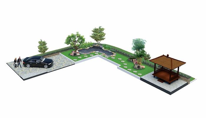 Jasa tukang taman & desainer taman di puri indah | puri metropolitan | puri westerling.
