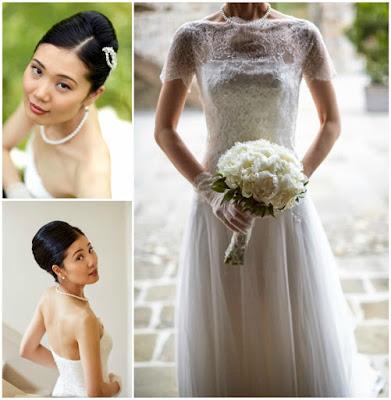 sposa giapponese stile