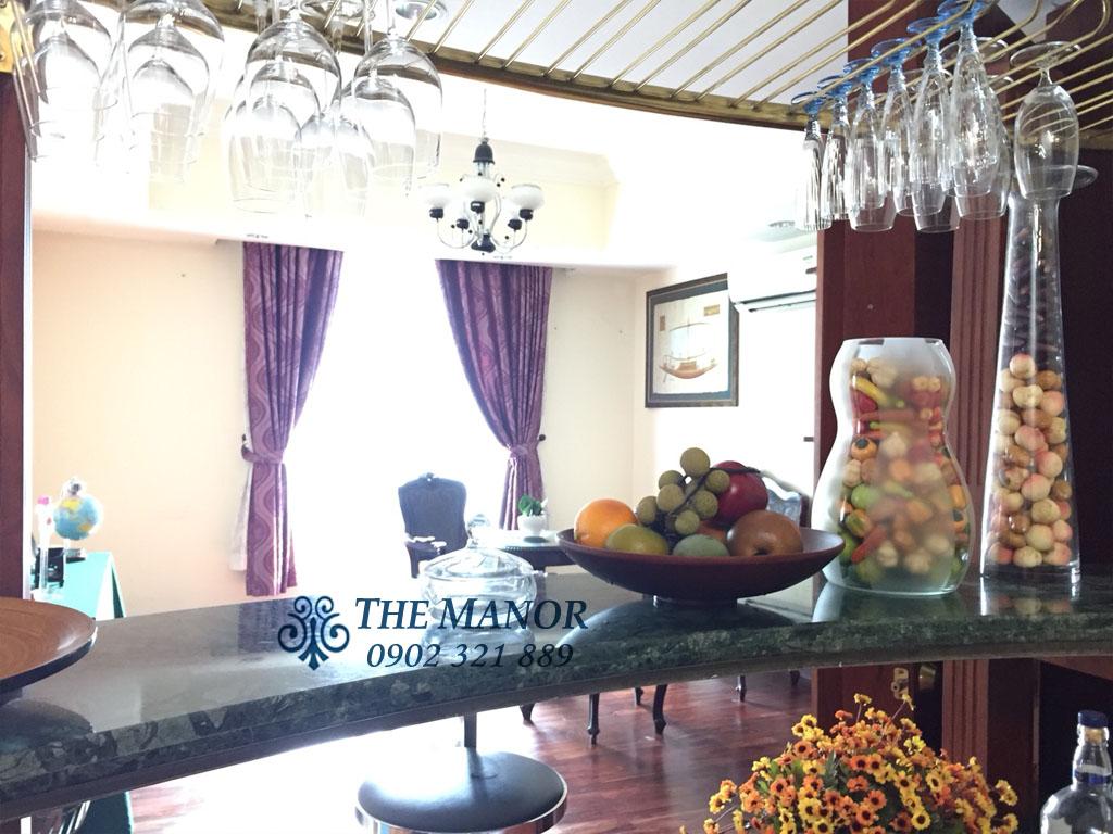 Giá cho thuê siêu rẻ THE MANOR 2 chỉ 800$ với căn hộ 2PN tầng 26  - hình 4