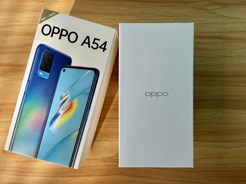 OPPO A54 White Box