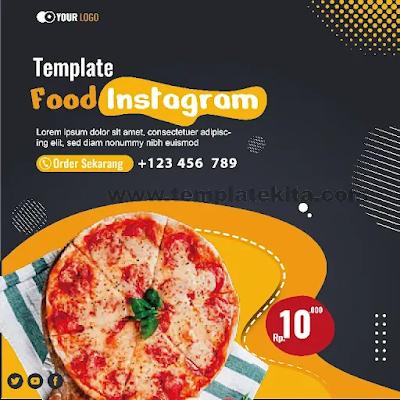 Download Feed Instagram Makanan Coreldraw Dan Photohop