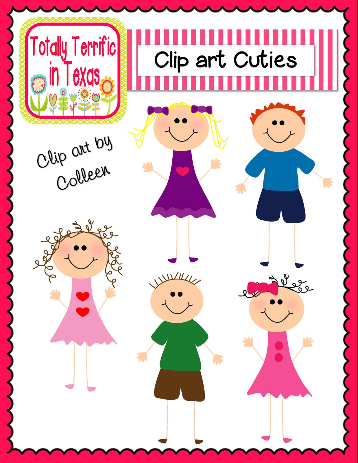 http://www.teacherspayteachers.com/Product/Clip-Art-Cuties-Color-1261347