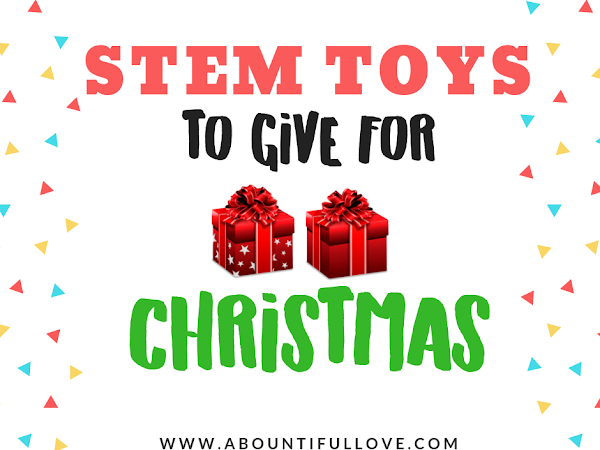STEM Toys to Give for Christmas