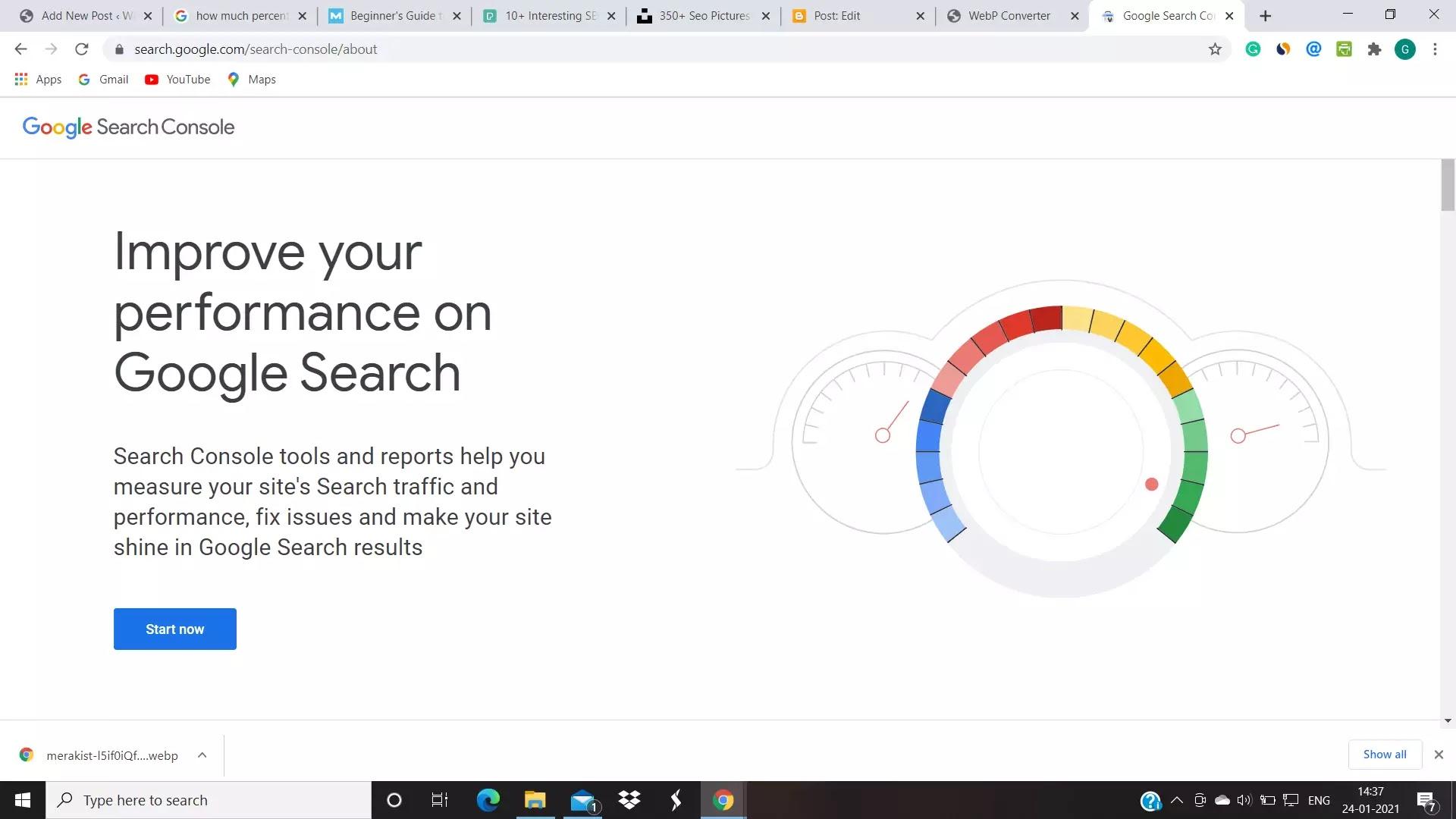 google webmaster tools for SEO