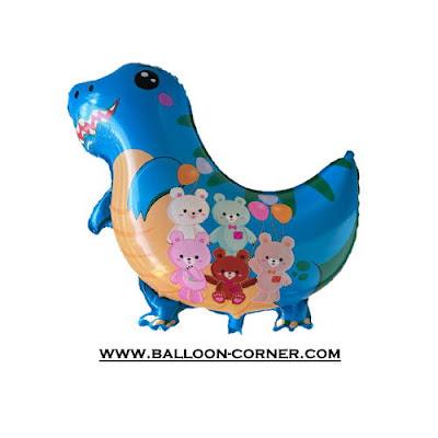 Balon Foil Baby Dinosaurus