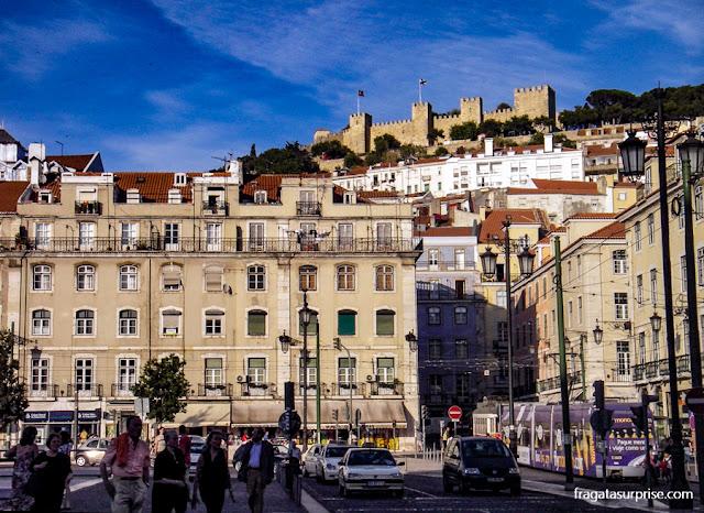 Verão em Lisboa, Portugal