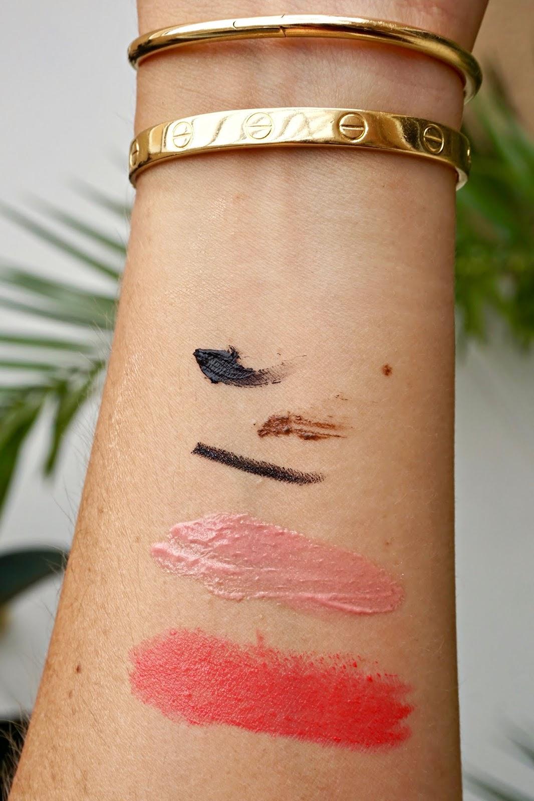 gucci lipstick mae coral swatch