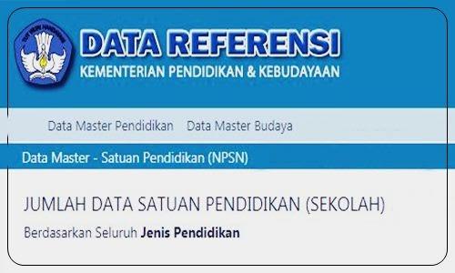 Foto Review Cara Mudah Cek NPSN Nomor Pokok Sekolah Nasional di Kemdikbud Via Online Terbaru - www.herusetianto.com