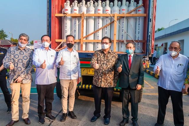 Indonesia  Kirim 3.500 Tabung Oksigen ke India
