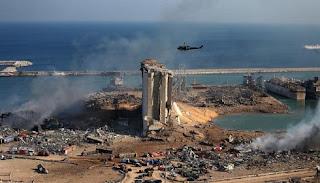 لبنان، انفجار مرفأ بيروت، ميشال عون، حسن دياب، غسان عويدات، حربوشة اخبار