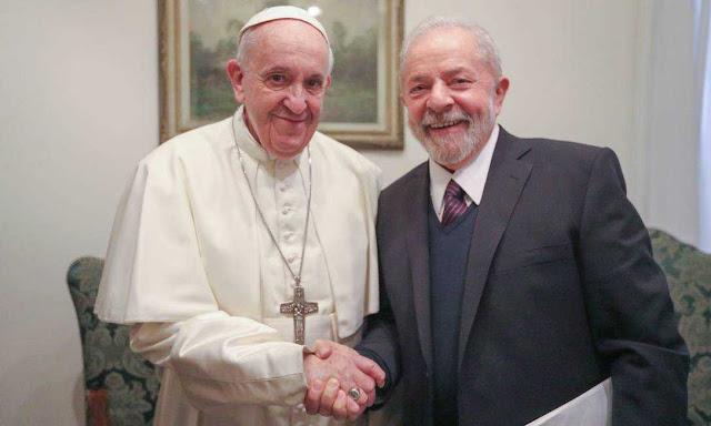 NOVA ESTRATEGIA DO PT: Depois do Papa Francisco, em breve Lula irá se encontrar com líderes evangélicos