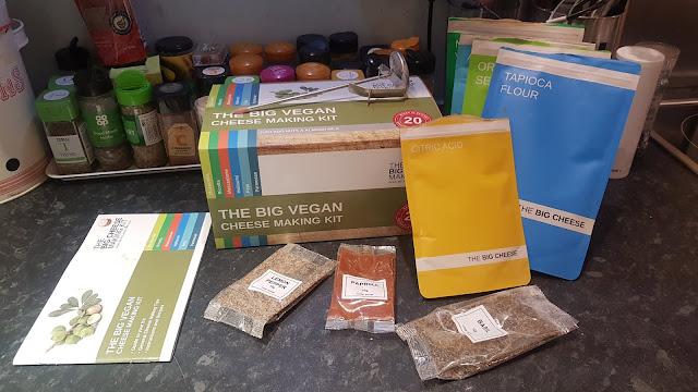 REVIEW: The Big Vegan Cheese Making Kit
