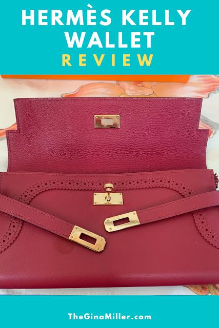 Hermes Kelly Wallet Review - TheGInaMiller.com